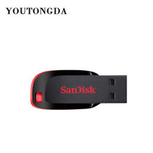 High Quality Original Sandisk 16GB USB Flash Drive 8GB U Disk 128GB