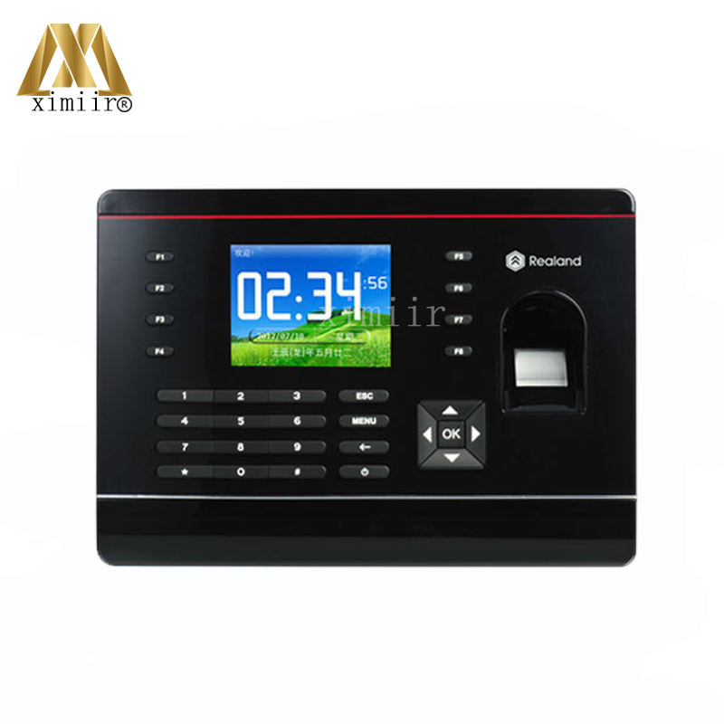 Hot sale fingerprint and 125KHZ RFID card time attendance systems TCP/IP USB fingerprint time clock with function key