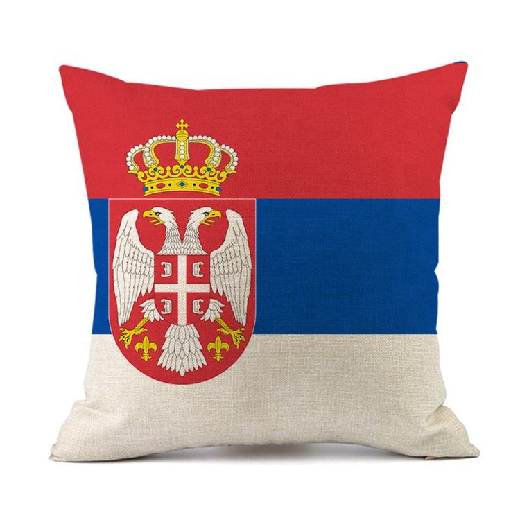 Neck Flag Pillow Covers Fabric Case Linen Hot Selling