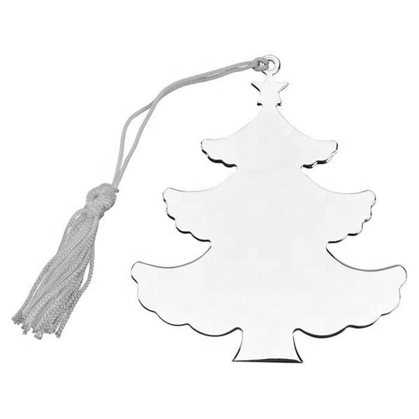 Yiwu Aceon Stainless Steel Layered Christmas Solid Tree Ornament For Engrave