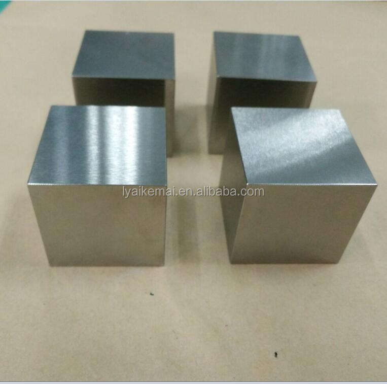 "factory cheap price 1.5"" Tungsten Cube 1kg Block Weight"