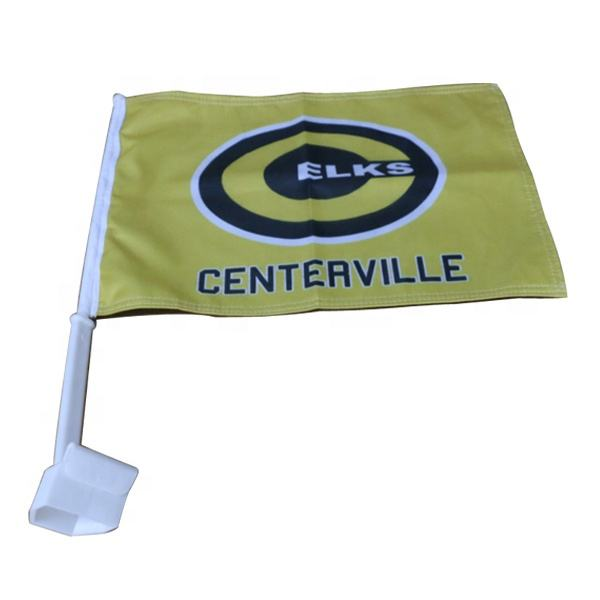 Hot Selling Promotional Car Flag for Festival, Celebrations and National Day
