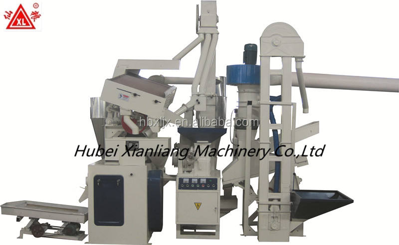 domestic completer rice mill production line