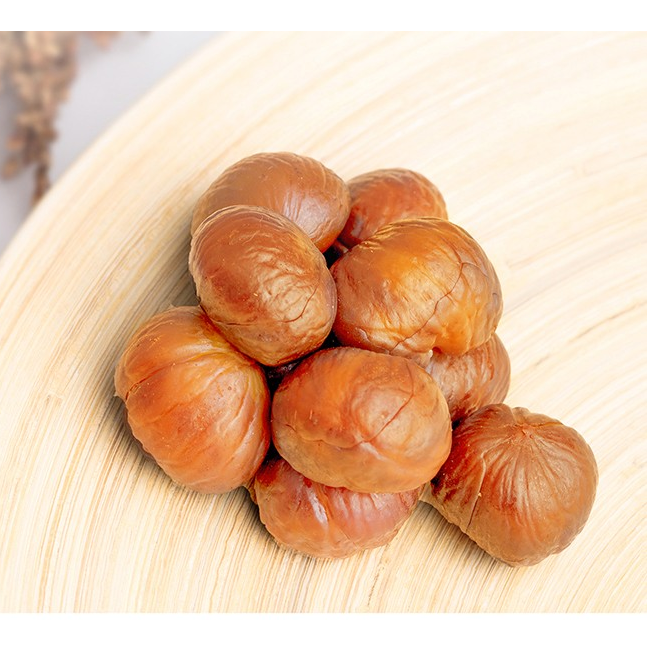 Popular snack food ready to eat baked Chestnuts organic peeled hot selling