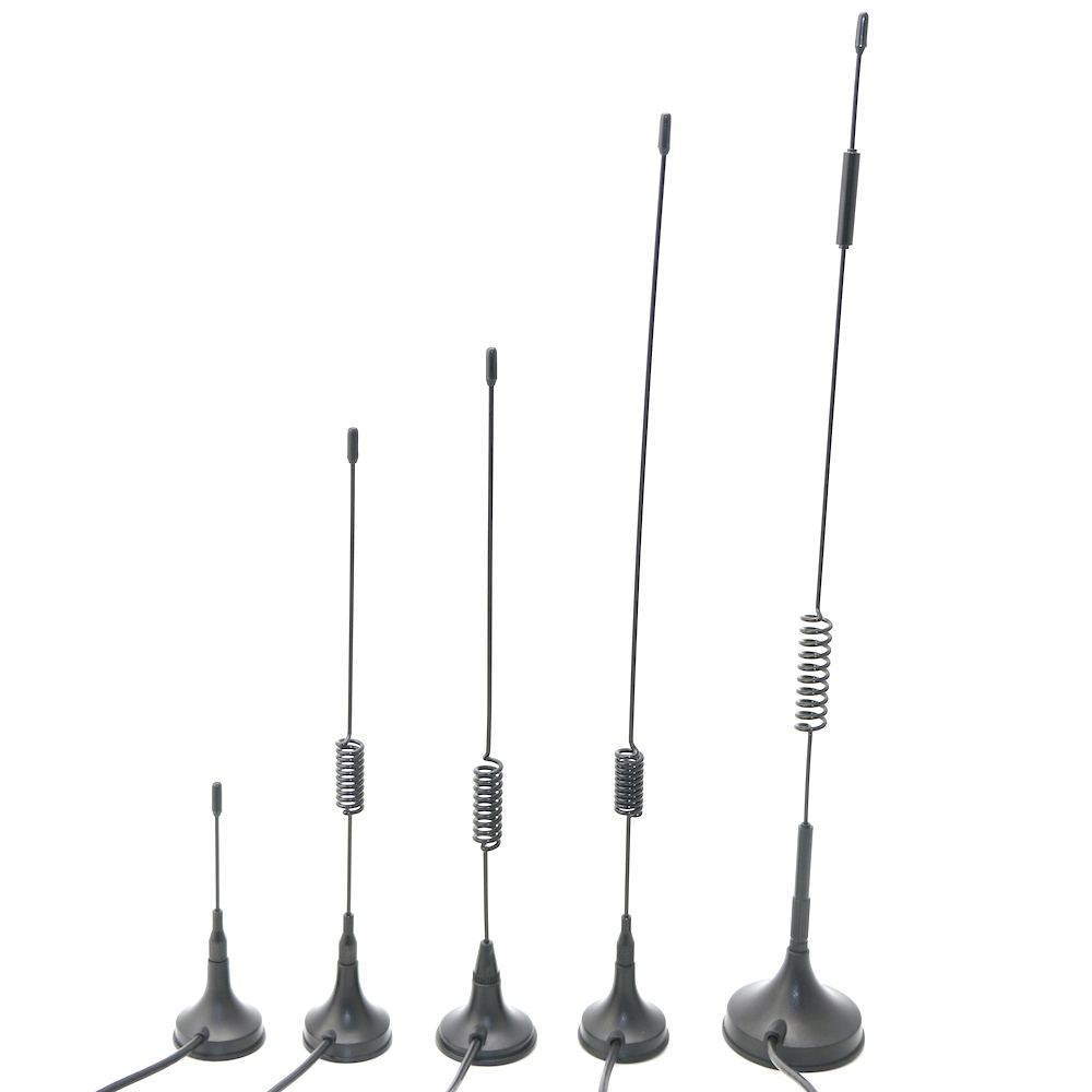 800 900 868 1800 2100 2700 MHz High Gain SMA RG174 GSM External Spring Magnetic Sucker Antenna