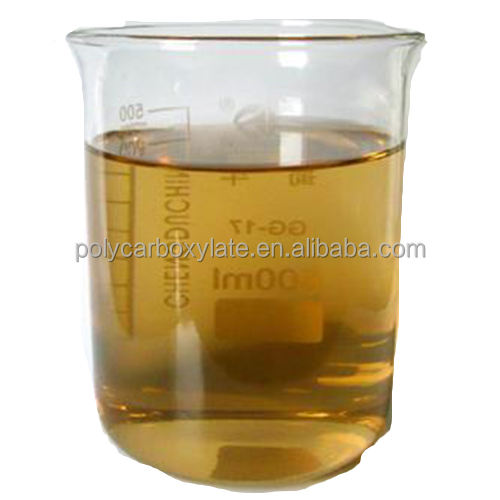 50% Polycarboxylate superplasticizer as concrete additive
