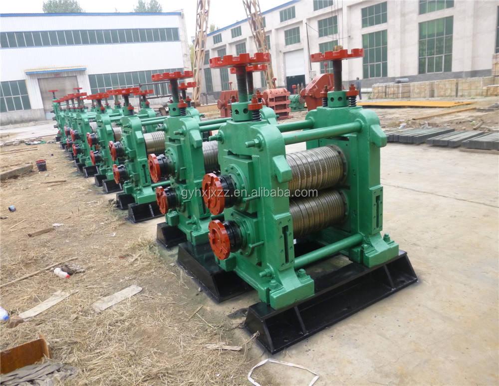 reinforcement steel bar roll forming equipment hot rolling mill for rebar round steel