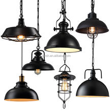Rustic Bar Industrial Metal Loft Pendant Lamp Ceiling Antique Light Fixtures