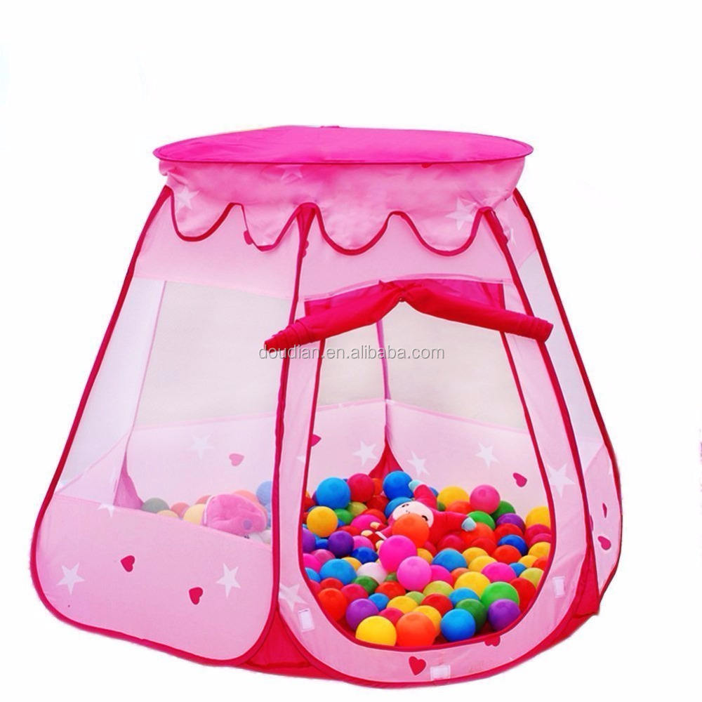 Beautiful Playland Playhouse Pop Up Princess Ball Pit Child Kid Play Tent or Girls