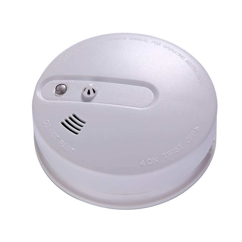 Factory price wholesale smart alarm optical gsm multi sensor standalone combination nest smoke heat leak detector with buzzer