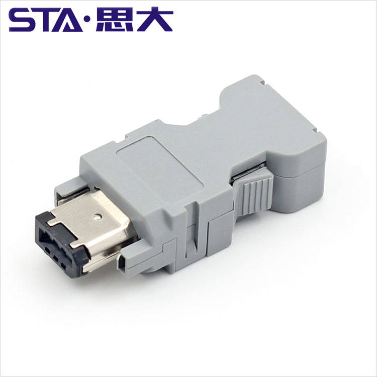 scsi connector IEEE 1394 connector 3M 6P Female Solder-Type and IEEE 1394 Cable
