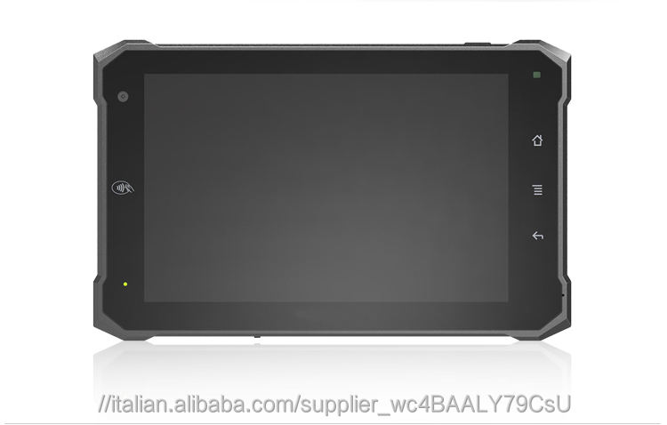 "7 ""in taxi tablet pc gruppo terminale con android 6.0.1 per veicolo tracking & robusto camion"