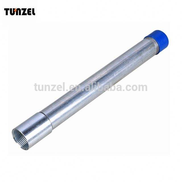 Galvanized steel UL approved 20mm IMC conduit tube by electric suppliers