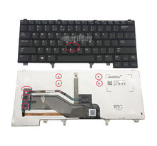 New Laptop Backlit Keyboard Layout for Dell Latitude E6320 E6330 E6420 E6430 E6440 E5420 E5430