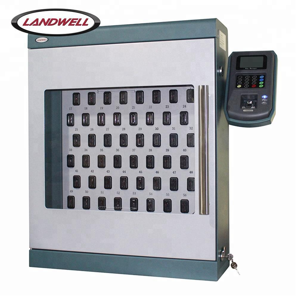 Landwell Fingerprint+RFID Card+PIN Identification Metal Electrical Cabinet Keys
