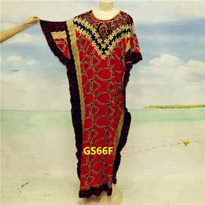 2018 China islamic cotton abaya dashiki supply to Dubai