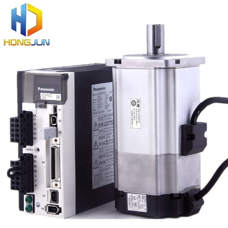 750w Japan Panasonic ac servo motor MHMD082G1U + MCDKT3520E for jacquard machine
