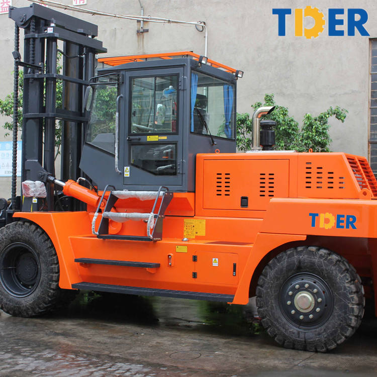 New construction machine big 28 ton forklift with spare parts