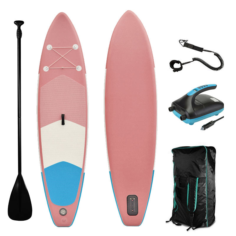 Surfboard New Design OEM Inflatable Sup Stand Up Board Surfing Longboard Surfboard