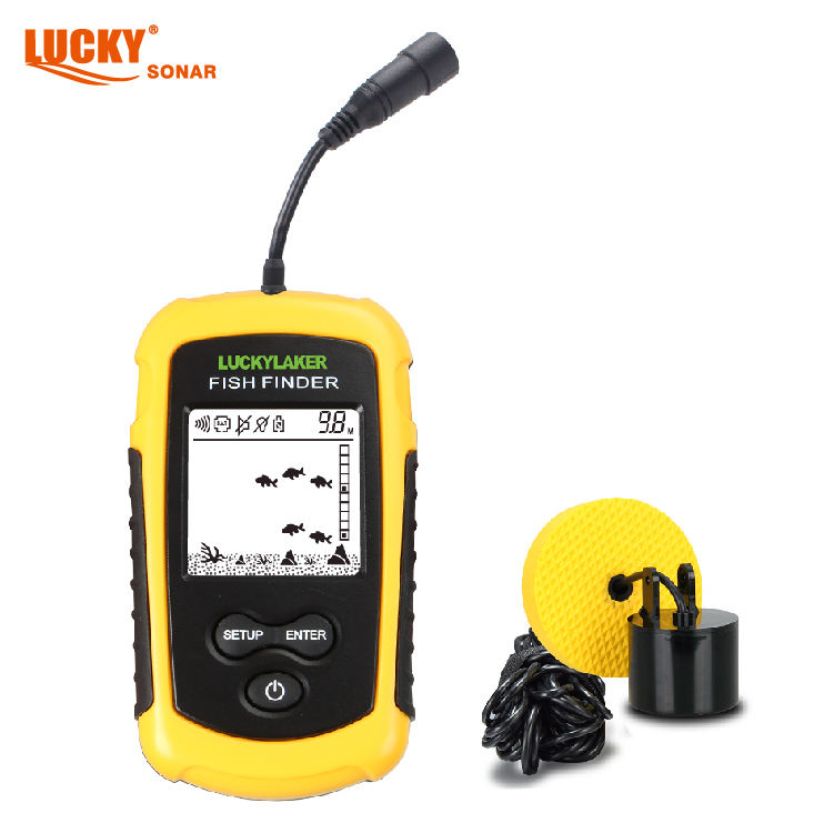 FF1108-1 LUCKY portable fishing equipment hot sale fish finder for outdoor sport