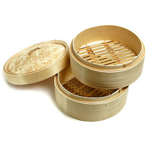 dim sum quality mini bamboo steamers