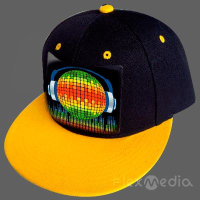EL Cap Wireless Custom Light Up EL Hat /Sound Activated wireless led Cap/el flashing t Cap with inverter for party