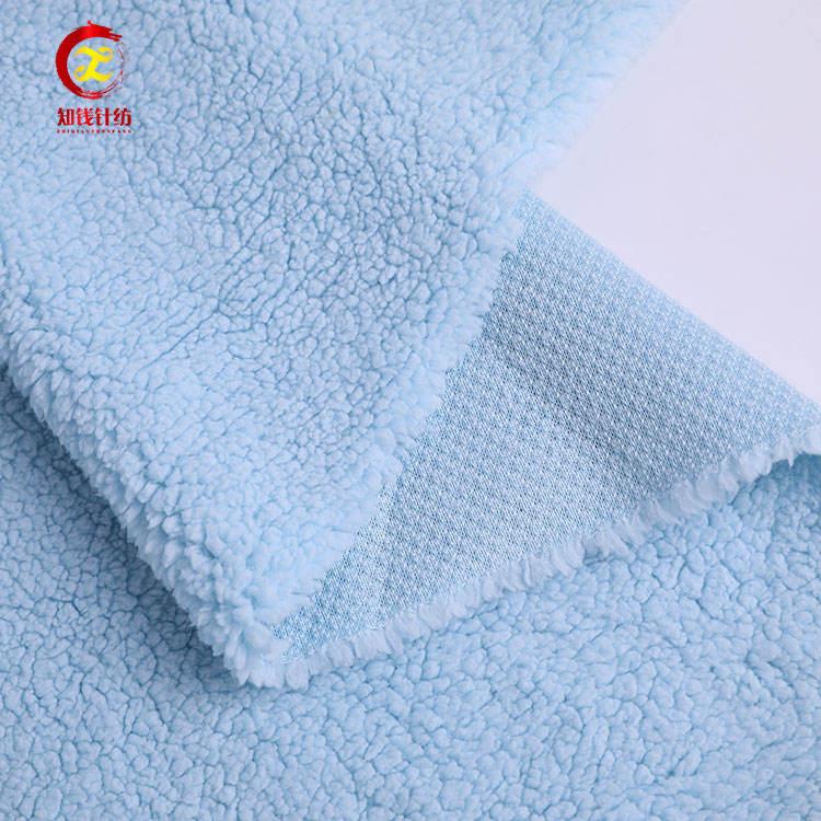 Qualité fournisseur 100 poly velours compagnie aérienne couverture de vison tissu