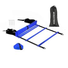 Football Quick Flat Rung Speed Agility Ladder Training Equipment
