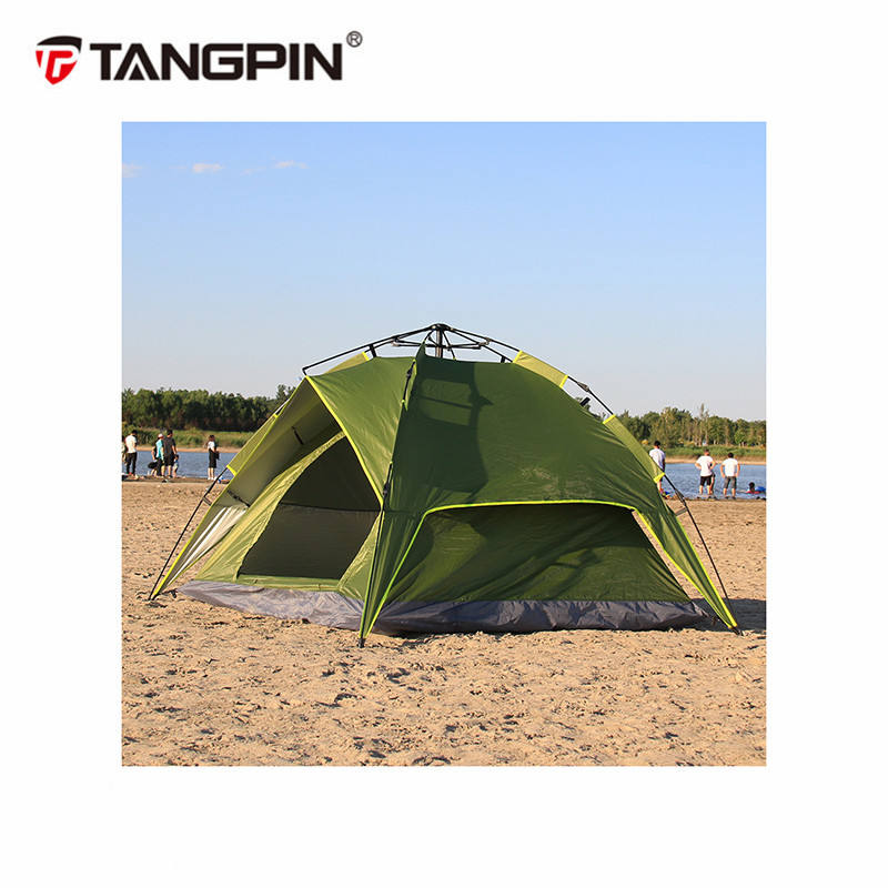 Hot sales two layers hanging camping family kids play tent