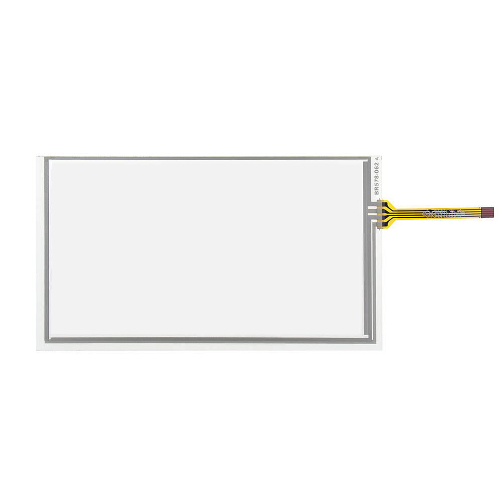 4 draads Resistive Touch Screen 6.2 inch 155*88mm Glas Digitizer Panel