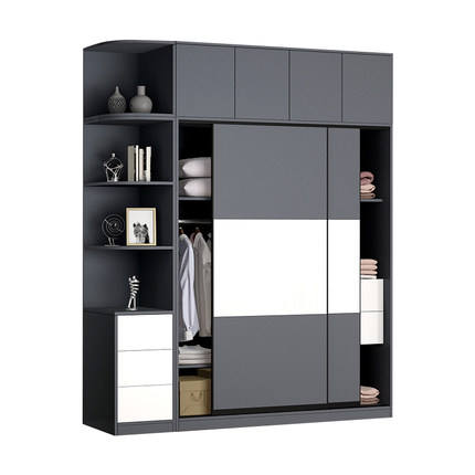 Top rated Customized bedroom furniture large storage elegant modern design 3 door bedroom wardrobe design