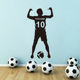 Big Boys Football Player Number Customization Cool Wall Art Stickers