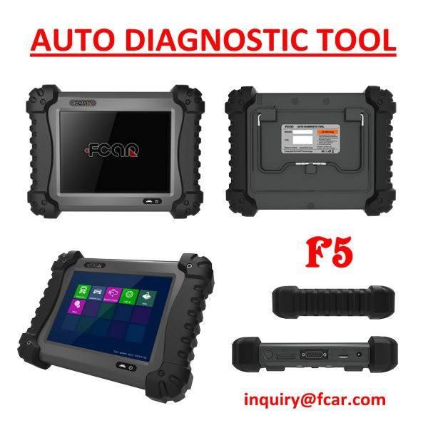 FCAR F5-D automotive pesados diagnosticar ferramentas, Equipamento de oficina, Ecu redefinir, Injector, Serviço de reset
