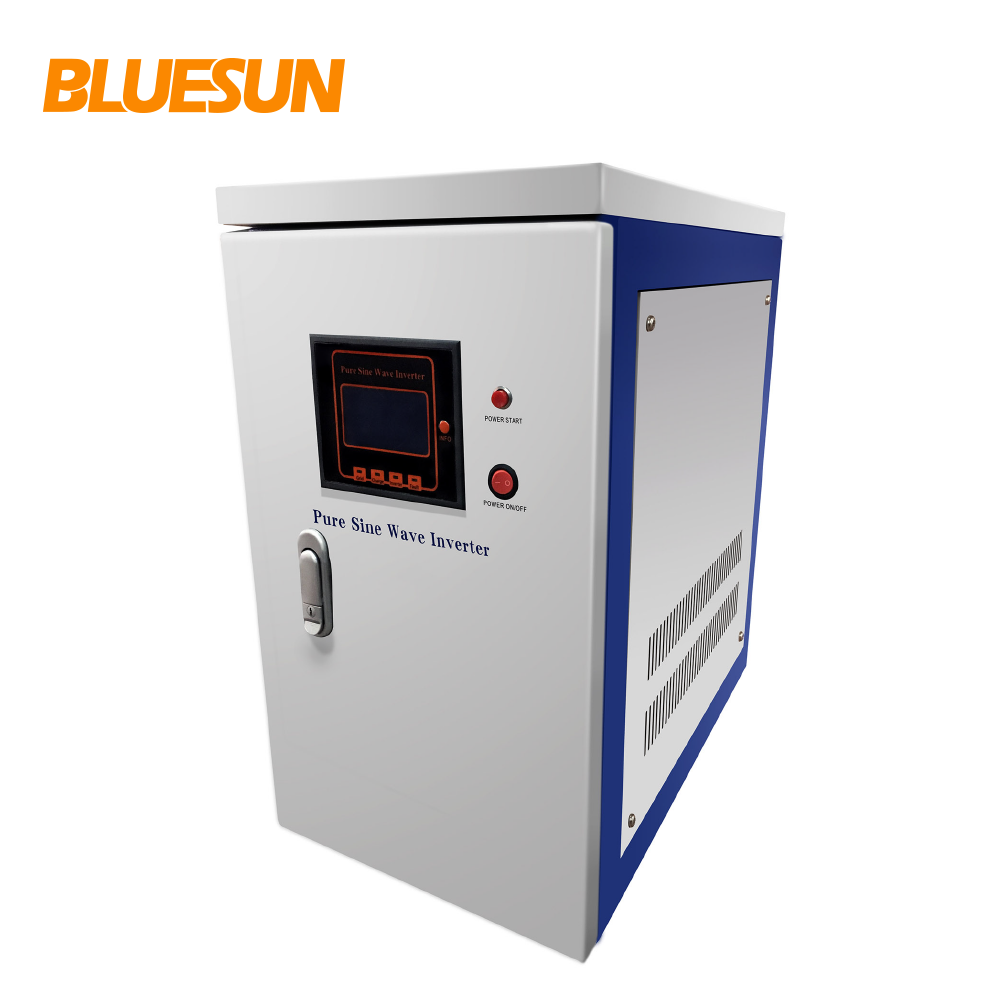 Bluesun pure sine wave three phase solar power and solar inverter 10kwh 20kw jfy