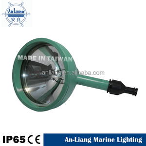 Stainless Tahan Air Perahu Mercury Flanged Dasar Portable Lampu LED Tangan Lampu Flood Light