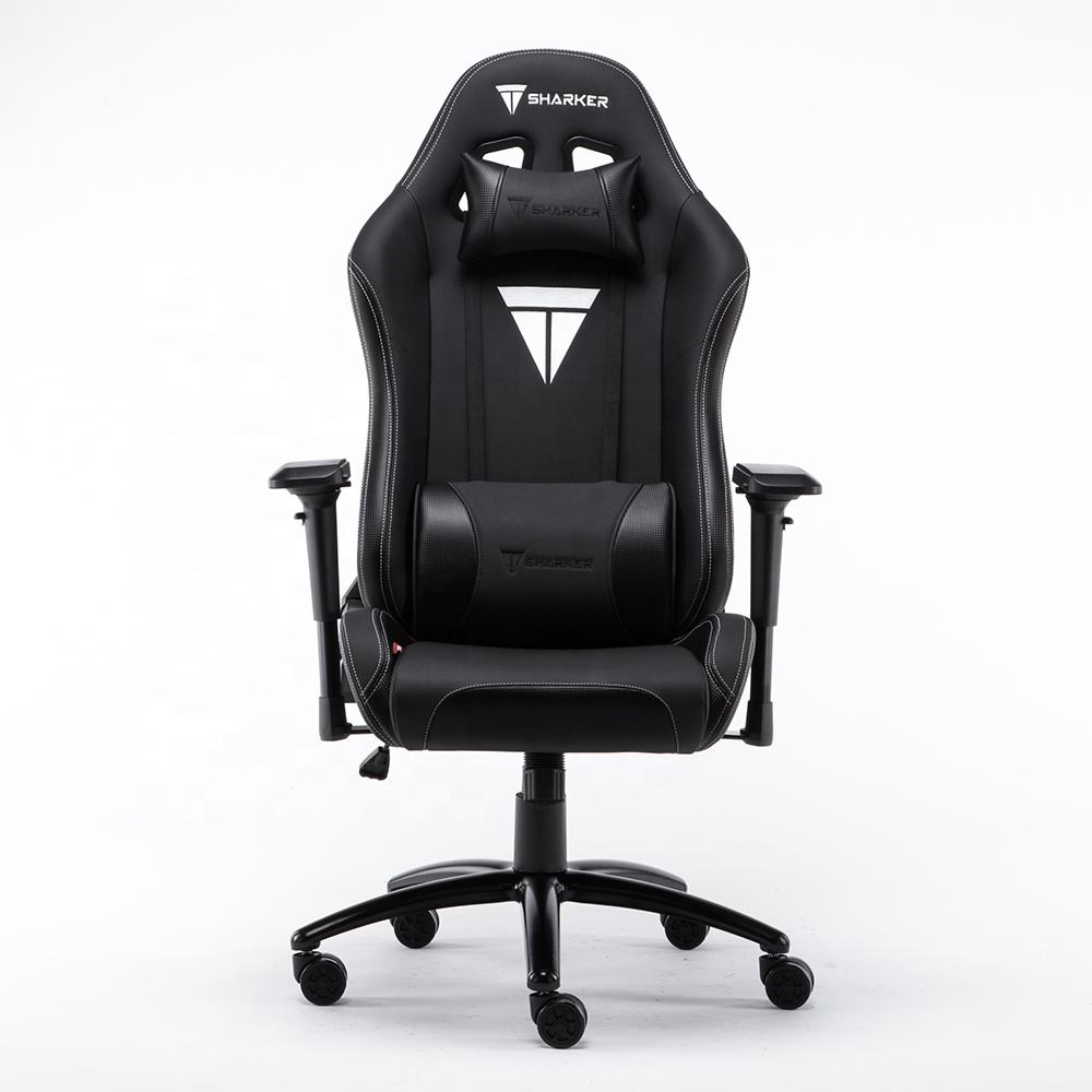 Germany hot sal Popular Computer racing gaming chair covers Ergonomic rocking casino gaming chair Recliner gaming chair white