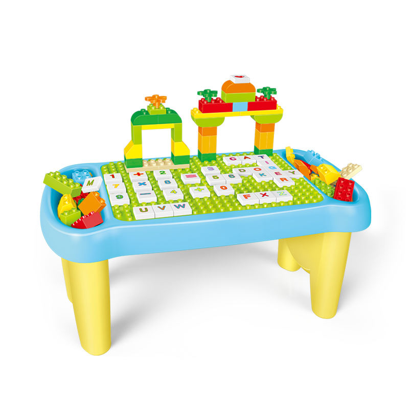 Gorock ABS plastic educational Multifunctional big Building Block Learning Table
