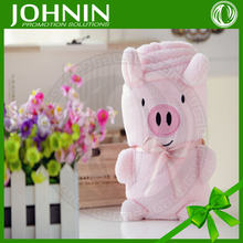 Hot Selling Fashion Fleece Toy Baby Blanket For Kids