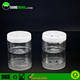 100ml PET jar for car empty solid air freshener plastic container