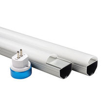 G5 base t5 fluorescent led tube housing 2ft 4ft 5ft tube light