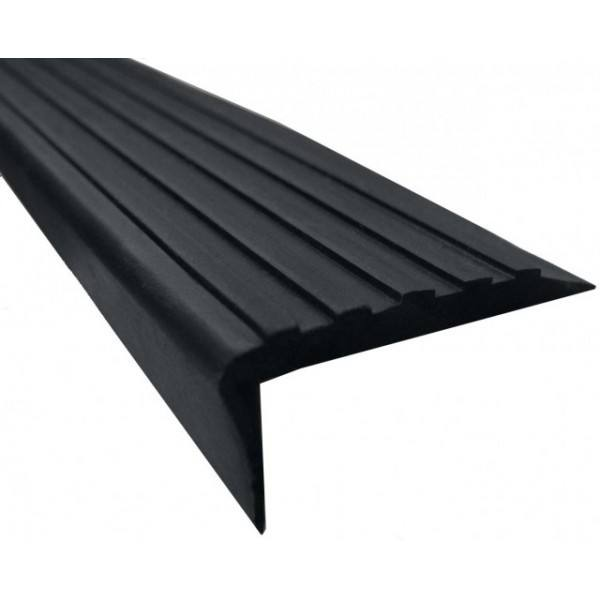Chinese Manufacturers Direct Factory Anti-slip plastic PVC rubber stair nosing