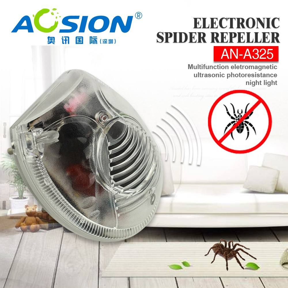 Aosion indoor 3 in 1 bed bug spuiten ultrasone spider repellent