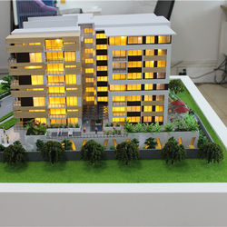 hot scale model n for architectural building making