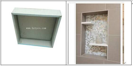 OEM XPS Shower Niche Bathroom Wall Assemblies