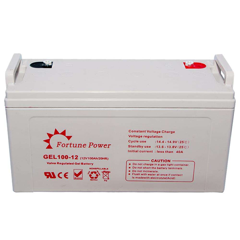 Fortune Power 12v solaire vanadium redox batterie 100ah 150ah 200ah batterie