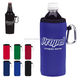 Personalizar neopreno enfriador de botellas de agua del sostenedor / de la manga