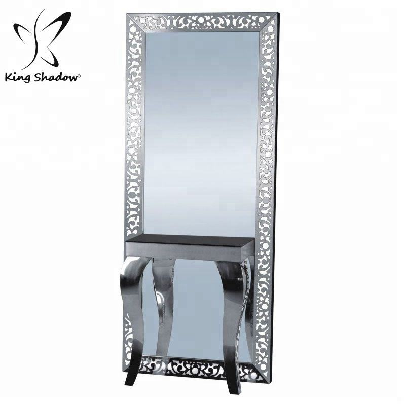 hair salon barber shop hairdressing salon styling mirror stations with light
