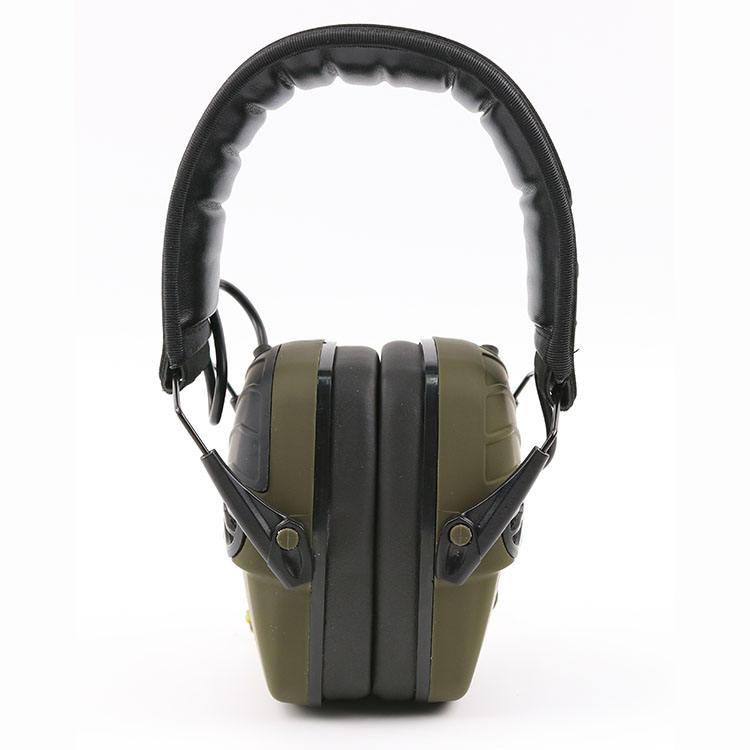 Safety Earmuffs Electronic Ear Defenders Shooting Earmuffs Industrial Noise Cancelling Winter Safety Ear Muffs Gun Range Hearing Ear Protection