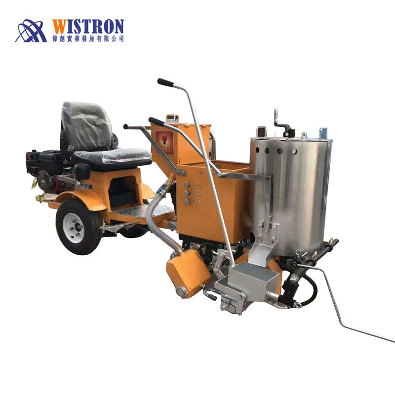 [ Hand Push ] Thermoplastic Paint Machine Driving Or Hand Push Thermoplastic Heat Road Marking Paint Machine