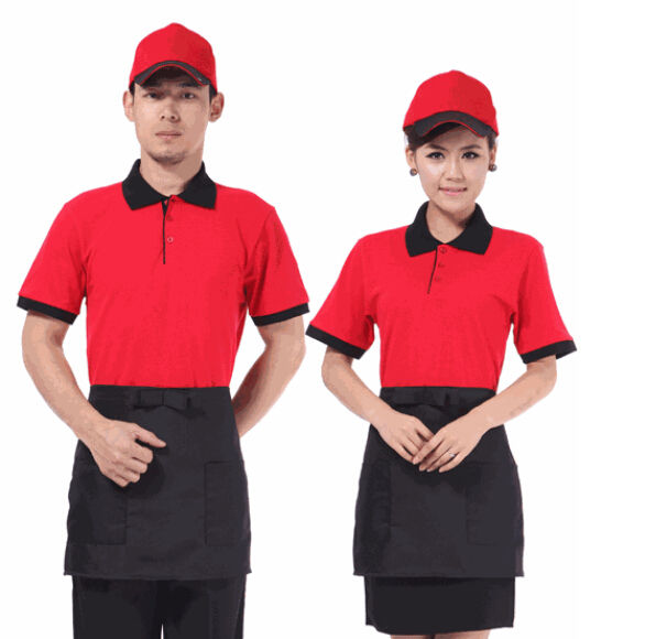 <span class=keywords><strong>Polo</strong></span> uniforme de restauration rapide, <span class=keywords><strong>Polo</strong></span> de bonne qualité, uniforme de Restaurant